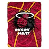 The Northwest Company Miami Heat Shadow Play Raschel Throw Blanket