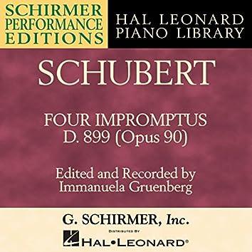 Schubert: Four Impromptus, D. 899