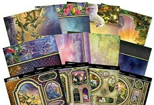 Hunkydory Crafts Land of Enchantment Mirri Magic Topper Collection - LAND101