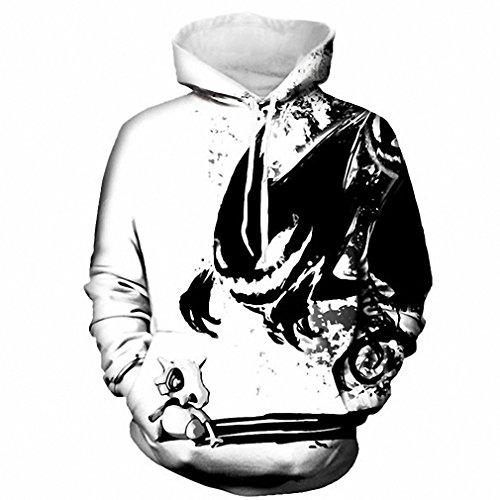 DDPING Neu Neu Männer & Frauen Hoodies Männer 3D Drucken Harajuku Punk Stil Sweatshirts Paar Hoodie Motorrad Streetwear hohe Qualität