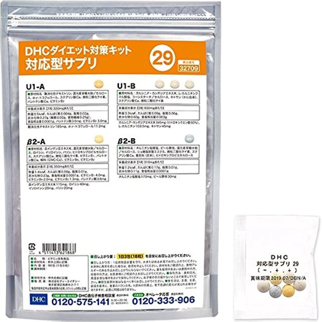 異なる安西ラインDHCダイエット対策キット対応型サプリ29