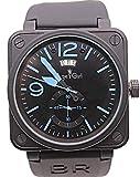 WAVFCSE Männer Automatische Mechanische GMT Neueste Limited Edition Uhr Bell Aviation Männer Sport...