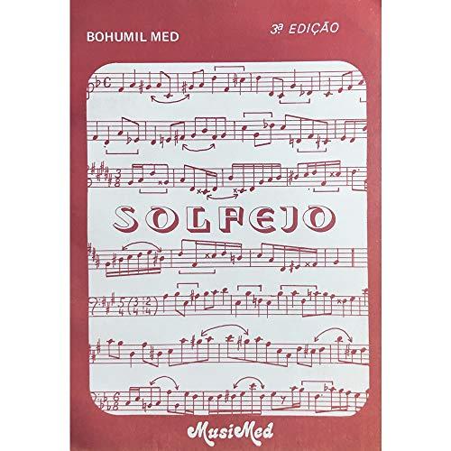 Método Solfejo - Bohumil Med 3ª Edição Musimed