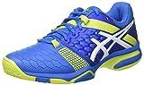 ASICS Gel-Blast 7, Chaussures de Handball américain Homme, Bleu (Directoire Blue/Energy Green/White), 40 EU
