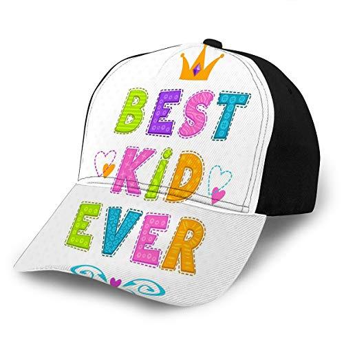 Baseball Caps Hats Best Kid Ever Sun Beach Columbia Dad Caps