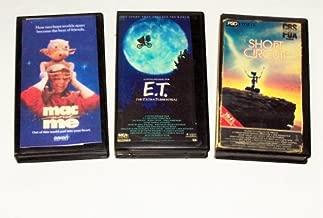 Family Sci-fi Adventures Collection(3pk): Short Circuit; Mac & Me; E.T.
