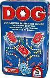 Schmidt Spiele 51428 Dog, Bring Mich mit Spiel in der Metalldose, bunt -