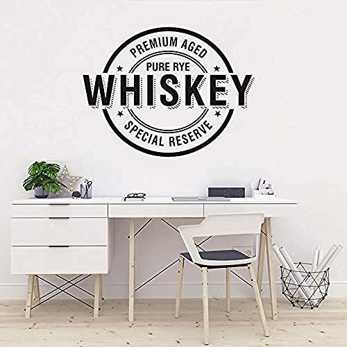 Wandsticker Jhping Vinyl Künstler Wohnkultur Wandtattoo Bar Alkohol Restaurant Whisky Tequila Dekoration Abbruch Wandbild Poster 57X75 Cm
