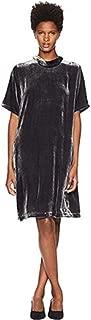 Velvet Charcoal Mock Neck K/L Dress Size L MSRP $328