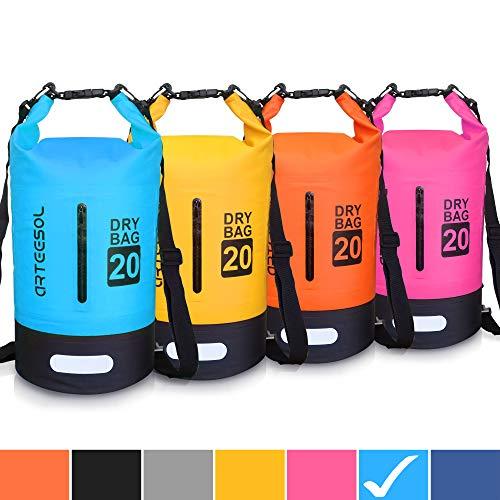 arteesol Dry Bag - 5L 10L 20L 30L Waterproof trockener Beutel/Sack wasserdichte...