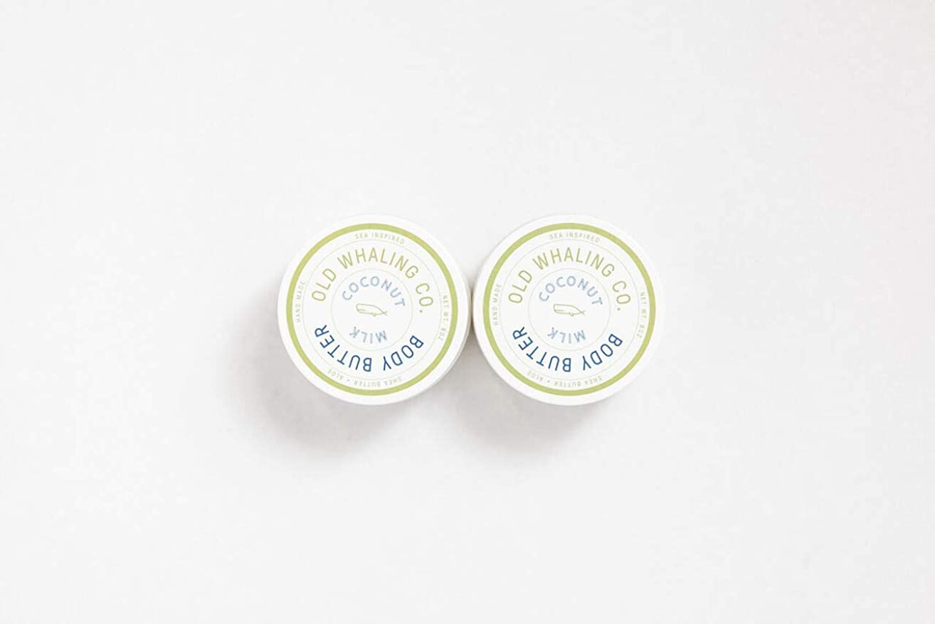 Two 8oz Coconut Milk Body Butters