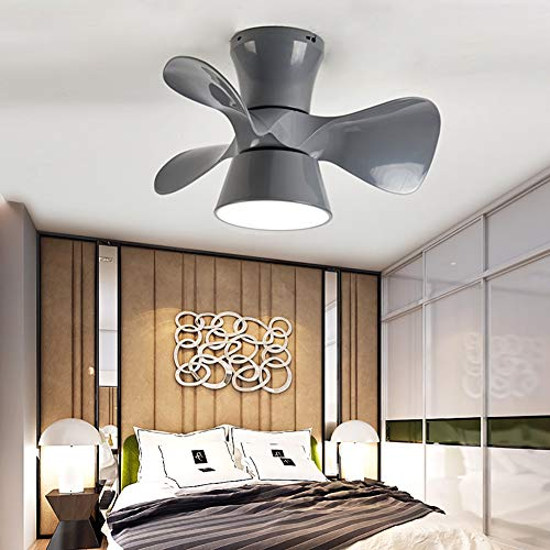 CGXYZ - Ventilador de Techo con Mando a Distancia, 3 Aspas, Potencia de 36W, Ultrasilencioso, 55 cm de Diametro, 6 Velocidades, Ventilador de Techo Infantil