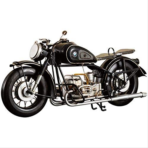 Esculturas Estatua Accesorios Ornamento Objetos Decoracion Modernos Motocicleta Creativa Modelo Decoración Harley Retro Vintage Hierro Metal Artesanías TV Gabinete Vino Gabinete Decoraciones