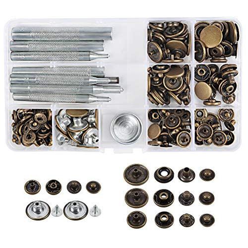 WOWOSS WOWOSS 50 Set Metall Druckknöpfe Bild
