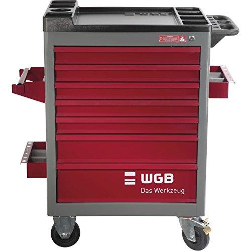 WGB Werkstattwagen | Werkzeugwagen | Rollwagen | Modell 142 mit 7 Schubladen | unbestückt |  leer