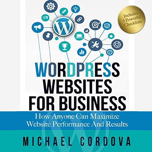 Wordpress Websites for Business audiobook cover art