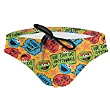 HsHdesign Men's Elmo's World Monster Printed Summer Swimsuits...