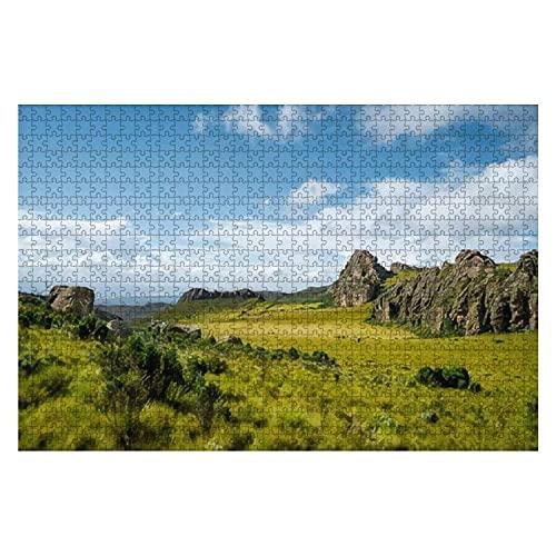 1000 piezas Aberdare rangos Kenia Hermoso paisaje Parque Nacional Aberdare Rompecabezas de...