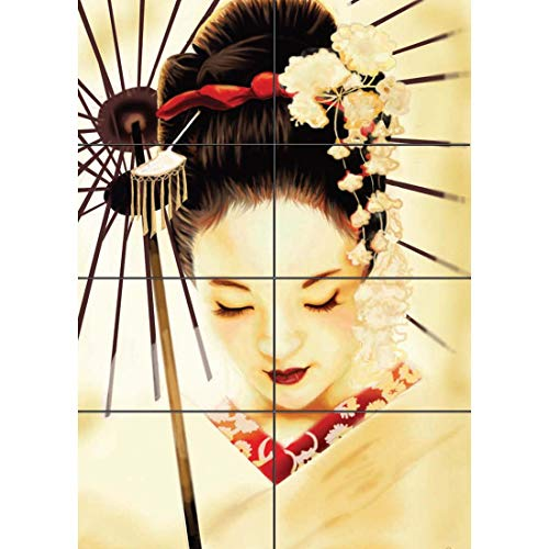 Doppelganger33 LTD Geisha Japanese New Giant Wall Art Print Poster G347