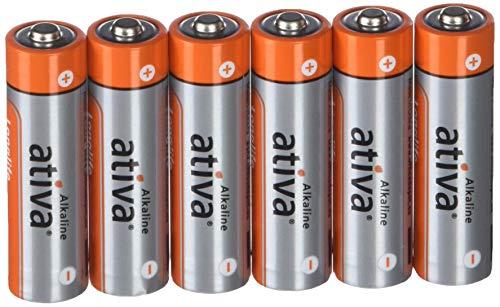 Ativa 5842026batterie alcaline AA–Confezione da 6