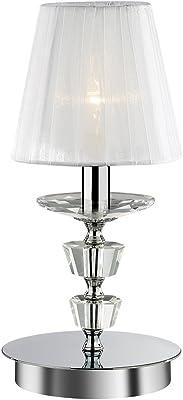Ideal Lux Pegaso TL1 Lampada, Small, Bianco