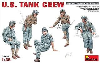 MiniArt 1/35 American tank crew figures set five bodies input Li MA35126