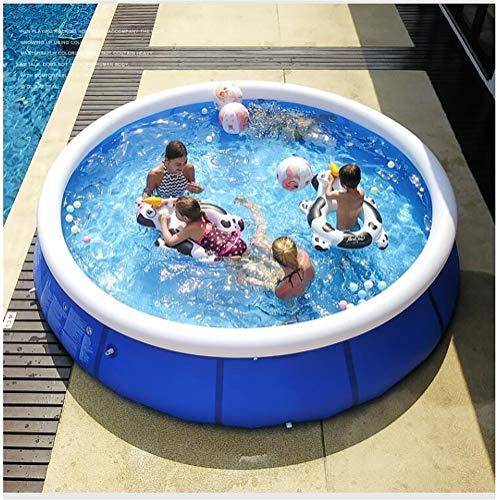 Schnorchel Buddies Snapset Pool, Runde Pool Aufblasbare Familie Badewanne Eindickung Startseite Kinder Erwachsene Große aufblasbarer Swimmingpool-Sommer-Party Familie Wasserspielcenter