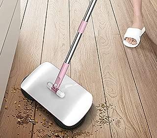 Pulisce Broom Combo con Dust Removal Manico Lungo pentola e Brush Set GAOLE Rimozione Verticale Scopa e Dust Pot Set Color : A