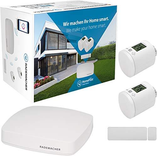 Rademacher Aktionspaket »Heizen« HomePilot® (3. Generation) inkl. Fenster-/Türkontakt + 2X Heizkörperstellantrieb DuoFern, 30110007