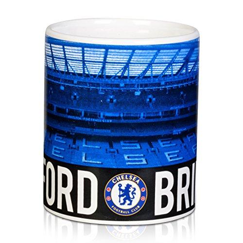 Original Chelsea London FC Mug Cup Tasse Kaffee Kaffeebecher Becher Tazza Stamford Bridge NEU