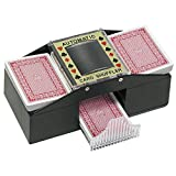 Trademark Poker Texas Hold'em Card Shuffler Card Shuffler, Black