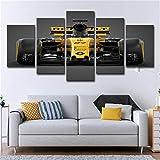 Cadre HD imprimant des peintures décoratives, Sports motorisés 5 Sorts