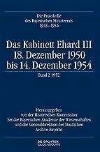 Das Kabinett Ehard III (German Edition)