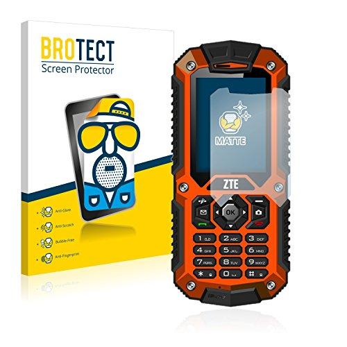BROTECT 2X Entspiegelungs-Schutzfolie kompatibel mit ZTE R28 Displayschutz-Folie Matt, Anti-Reflex, Anti-Fingerprint