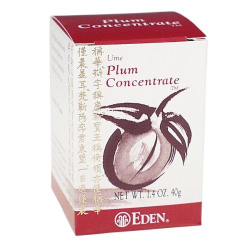 Eden Ume Plum Concentrate, Bainiku Ekisu, 1.4-Ounce Box