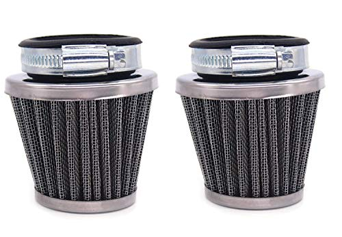 OxoxO Vervang 42mm Luchtfilter Voor 50cc 110cc 125cc 150cc 200cc GY6 Brommer Scooter Atv Dirt Bike Motorfiets (2st)