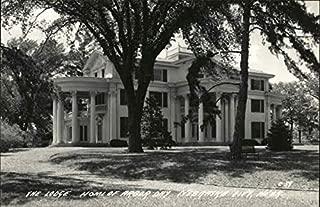 The Lodge, Home of Arbor Day Nebraska City, Nebraska Original Vintage Postcard