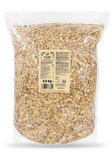 KoRo - Fiocchi integrali ai 4 cereali bio 2,5 kg - fiocchi di cereali senza zucchero, con avena,...