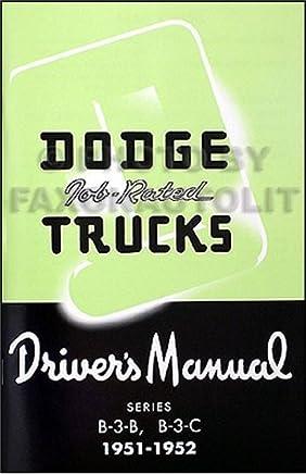 1951-1952 dodge b-3 pickup & panel 1/2 & 3/