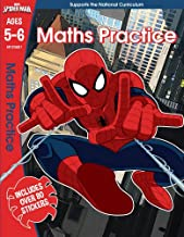 Spider-Man: Maths Practice, Ages 5-6 (Marvel Learning)