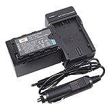 DSTE アクセサリーキット VW-VBD58 VW-VBD78 互換 カメラ バッテリー + 充電キット対応機種 Panasonic AJ-PX270 AJ-PX298 AJ-PX298MC HC-MDH2 HC-MDH2GK HC-MDH2GK-K HC-MDH2M AG-FC100MC AG-DVX200MC カメラ