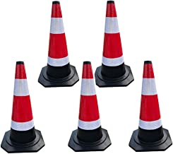 AJZGF Traffic Cone 5 H-62cm Automobile Traffic Warning Cones Road Parking Security Guard Highway Traffic Cone Highway Traffic Cone