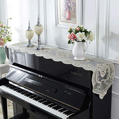 Buy Discount Piano cover Modern Piano Table Flag Cloth New Luxury Piano Half Cover European Piano Du...