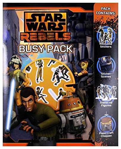Star Wars Rebels Busy Pack, plastique, multicolore