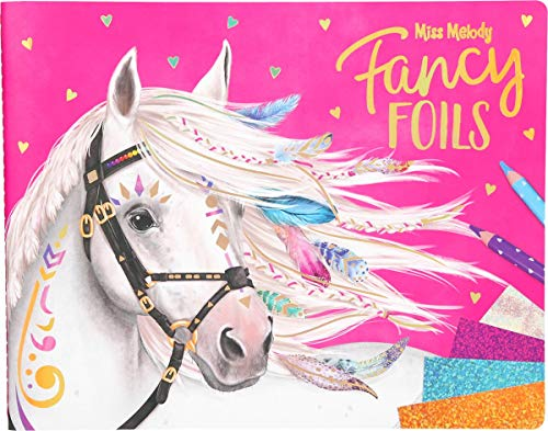 Depesche 10352 - Malbuch Fancy Foils, Miss Melody