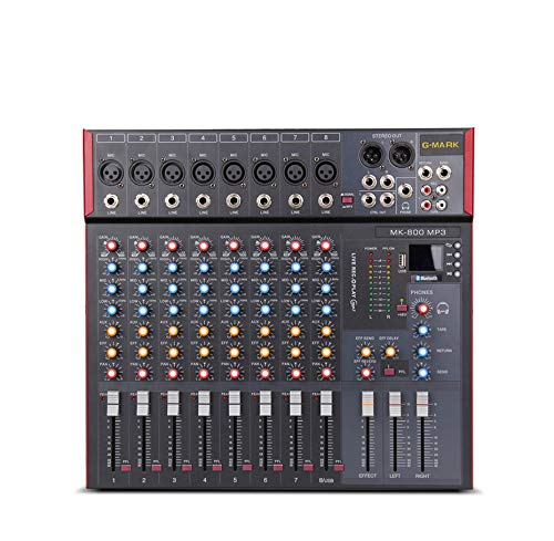 Great Price! WANGYONGQI Professional Mixer Audio Music Studio Console Stage Mixers Microphone Mixing...