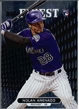 2013 Topps Finest MLB Baseball Rookie Card #37 Nolan Arenado RC MINT