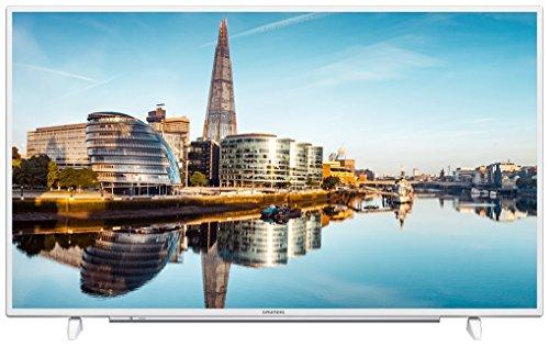Grundig 40 GUW 8860 102 cm (40 Zoll) LED-Backlight-TV (Ultra-HD, 3840 x 2160 Pixel, 1200 VPI, Triple Tuner (DVB-T2 HD/C/S2), Smart TV), Weiß