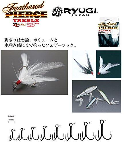 リューギ(RYUGI) フェザードピアストレブル ブラック ・2