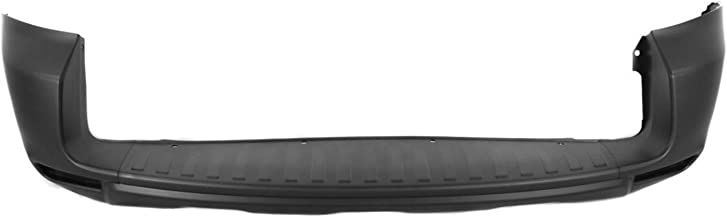 MBI AUTO - Painted to Match, Rear Bumper Cover for 2009-2012 Toyota RAV4 with Fender Flares 09-12, TO1100271